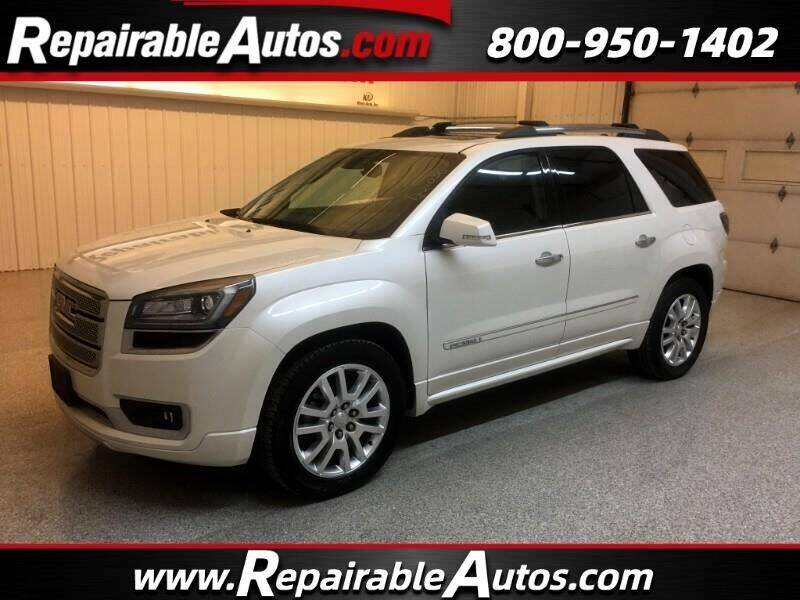 2015 GMC Acadia for sale at Ken's Auto in Strasburg ND