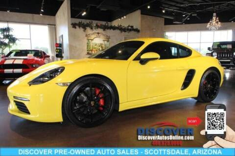 2017 Porsche 718 Cayman for sale at Discover Pre-Owned Auto Sales in Scottsdale AZ
