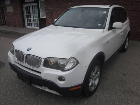 2008 BMW X3 for sale at Tewksbury Used Cars in Tewksbury MA
