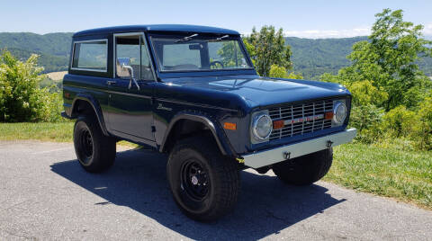 1976 Ford Bronco for sale at Rare Exotic Vehicles in Weaverville NC