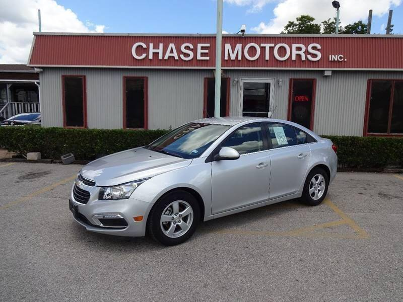 2016 Chevrolet Cruze Limited for sale at Chase Motors Inc in Stafford TX