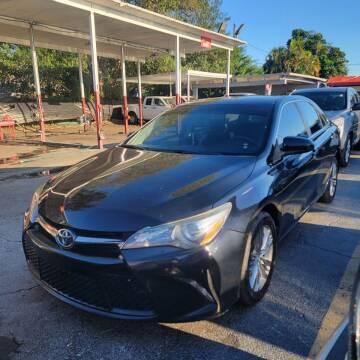 2015 Toyota Camry for sale at America Auto Wholesale Inc in Miami FL