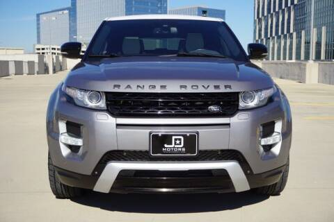 2013 Land Rover Range Rover Evoque for sale at JD MOTORS in Austin TX