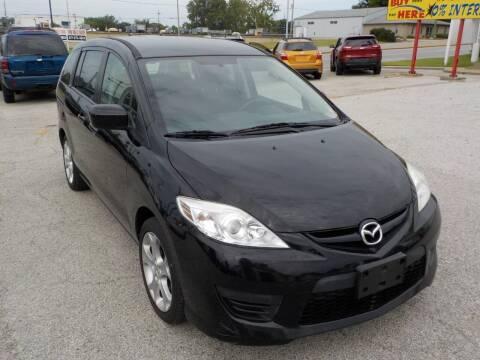 2010 Mazda MAZDA5 for sale at SEBASTIAN AUTO SALES INC. in Terre Haute IN