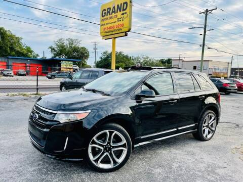 2014 Ford Edge for sale at Grand Auto Sales in Tampa FL