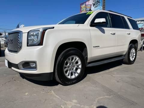 2015 GMC Yukon for sale at MAGIC AUTO SALES, LLC in Nampa ID