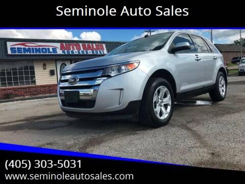 2011 Ford Edge for sale at Seminole Auto Sales in Seminole OK