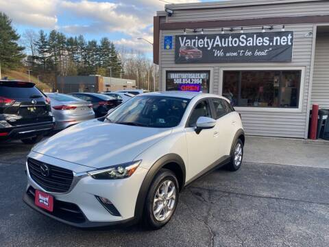 2020 Mazda CX-3 for sale at Variety Auto Sales in Worcester MA