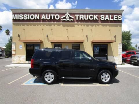 2013 Chevrolet Tahoe for sale at Mission Auto & Truck Sales, Inc. in Mission TX