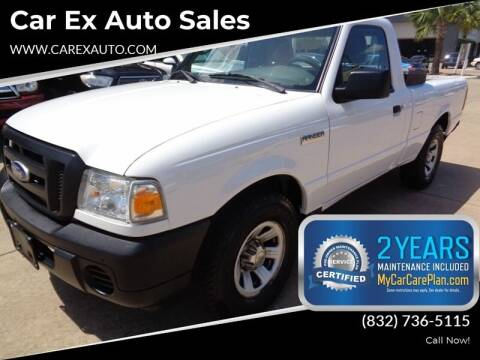 2010 Ford Ranger for sale at Car Ex Auto Sales in Houston TX