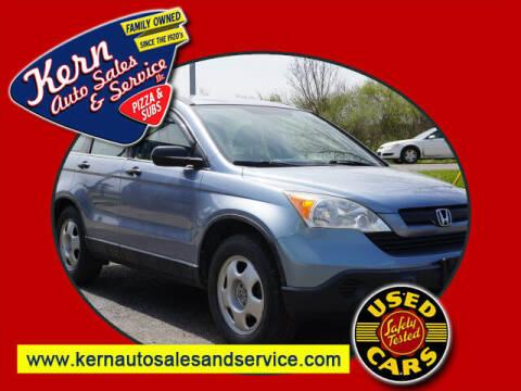 2007 Honda CR-V for sale at Kern Auto Sales & Service LLC in Chelsea MI
