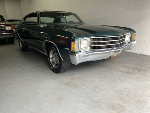 1972 Chevrolet Chevelle Malibu for sale at American Classics Autotrader LLC in Pompano Beach FL