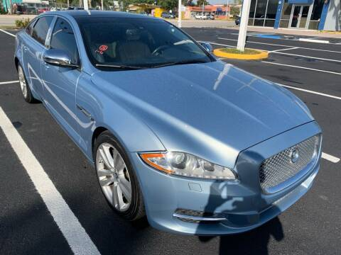 2011 Jaguar XJL for sale at Eden Cars Inc in Hollywood FL