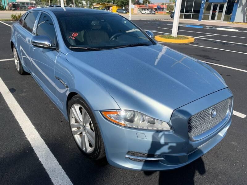2011 Jaguar XJL for sale at Eden Cars Inc in Hollywood FL