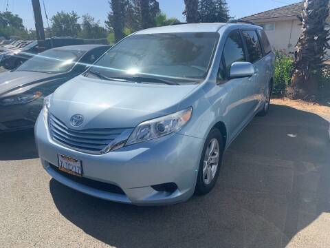 2015 Toyota Sienna for sale at Contra Costa Auto Sales in Oakley CA