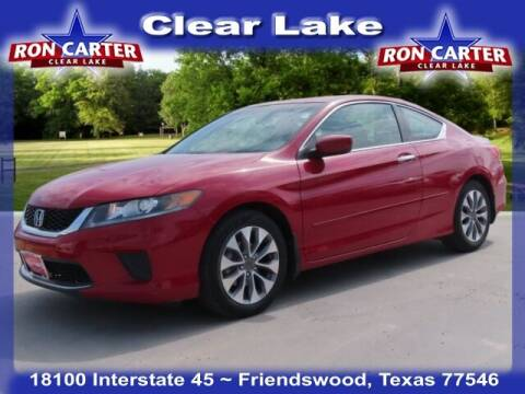 2015 Honda Accord for sale at Ron Carter  Clear Lake Used Cars in Houston TX