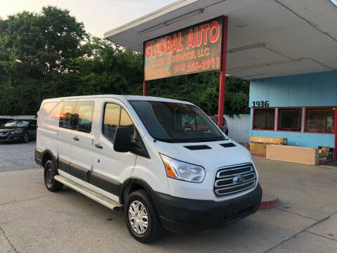 2015 Ford Transit Cargo for sale at Global Auto Sales and Service in Nashville TN