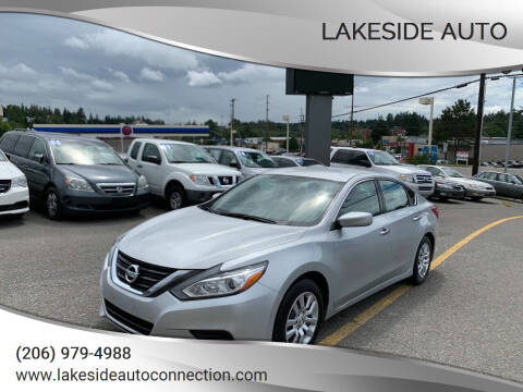 2016 Nissan Altima for sale at Lakeside Auto in Lynnwood WA