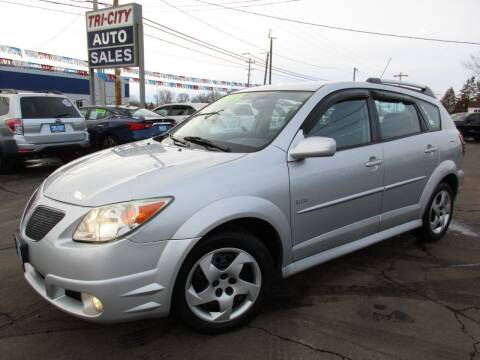 2006 Pontiac Vibe for sale at TRI CITY AUTO SALES LLC in Menasha WI