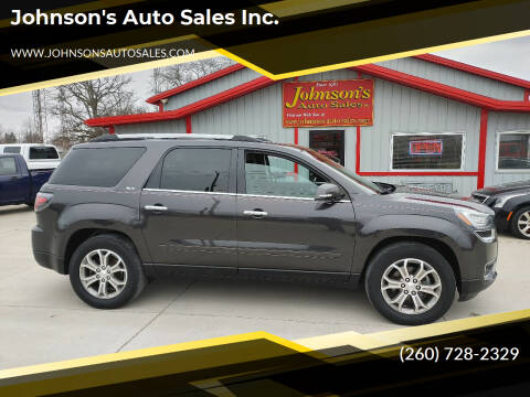 2015 GMC Acadia for sale at Johnson's Auto Sales Inc. in Decatur IN