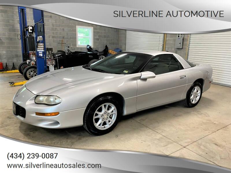 2002 Chevrolet Camaro for sale at Silverline Automotive in Lynchburg VA