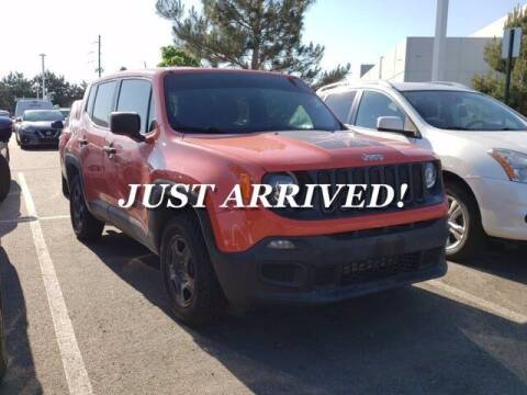 2017 Jeep Renegade for sale at EMPIRE LAKEWOOD NISSAN in Lakewood CO