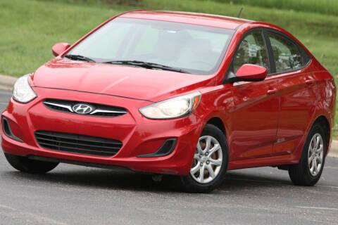 2012 Hyundai Accent for sale at P M Auto Gallery in De Soto KS