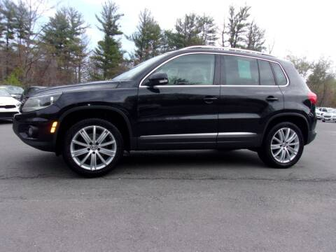 2014 Volkswagen Tiguan for sale at Mark's Discount Truck & Auto Sales in Londonderry NH