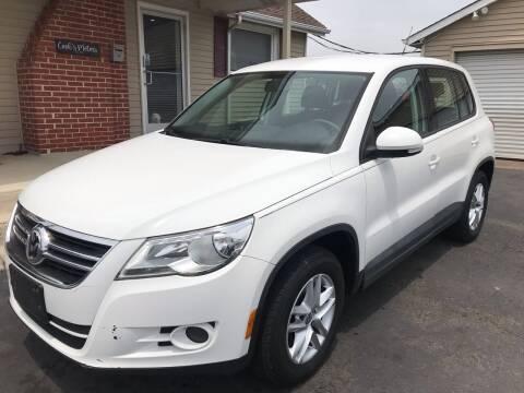 2011 Volkswagen Tiguan for sale at Cooks Motors in Westampton NJ