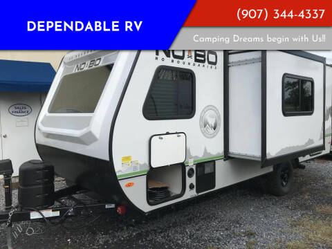 2021 Forest River No Boundaries 19.8 for sale at Dependable RV in Anchorage AK