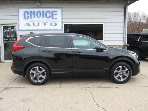 2017 Honda CR-V for sale at Choice Auto in Carroll IA