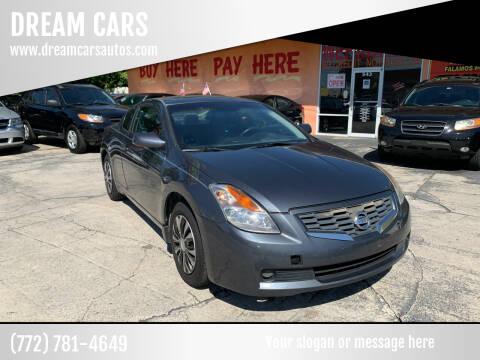 2008 Nissan Altima for sale at DREAM CARS in Stuart FL