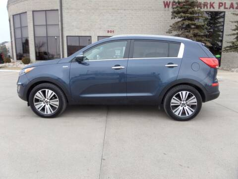 2014 Kia Sportage for sale at Elite Motors in Fargo ND