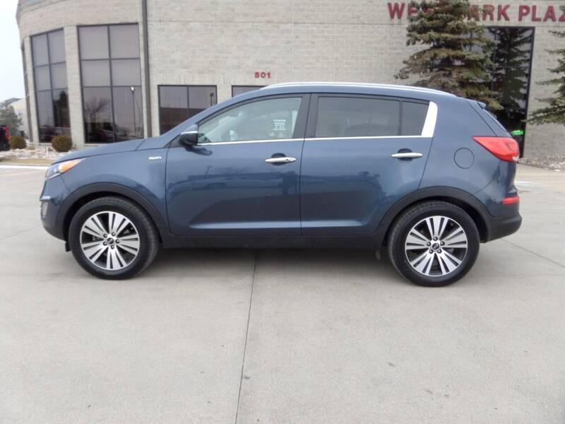 2014 Kia Sportage for sale at Elite Motors in Fargo ND