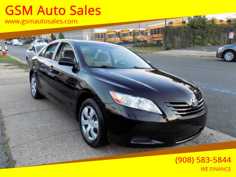 2008 Toyota Camry for sale at GSM Auto Sales in Linden NJ