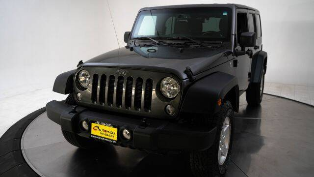 2018 Jeep Wrangler JK Unlimited for sale at AUTOMAXX MAIN in Orem UT