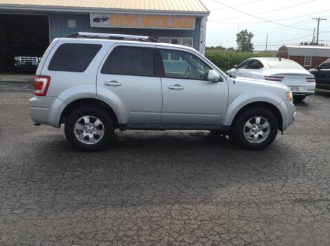 2011 Ford Escape for sale at Kevin's Motor Sales in Montpelier OH