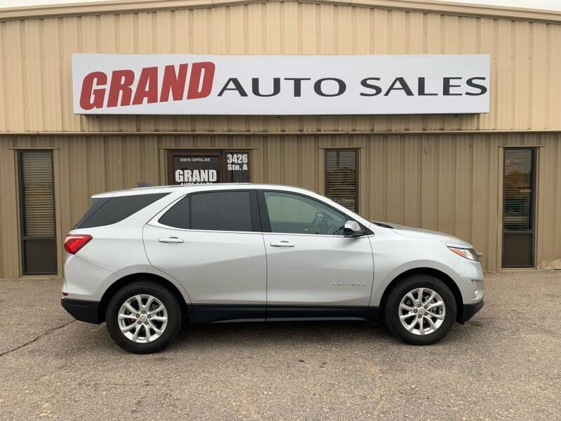 2018 Chevrolet Equinox for sale at GRAND AUTO SALES in Grand Island NE