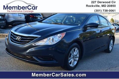 2012 Hyundai Sonata for sale at MemberCar in Rockville MD
