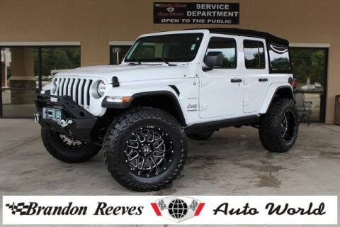 2018 Jeep Wrangler Unlimited for sale at Brandon Reeves Auto World in Monroe NC