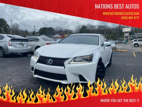 2014 Lexus GS 350 for sale at Nations Best Autos in Decatur GA