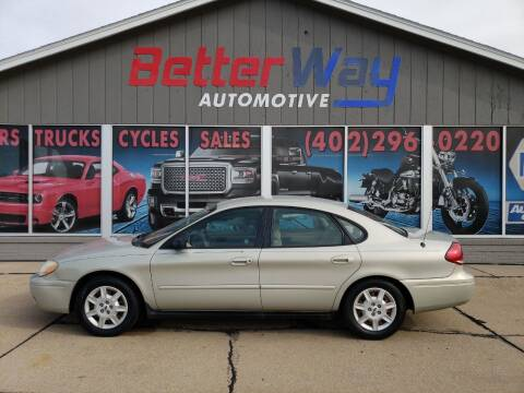 2007 Ford Taurus for sale at Betterway Automotive Inc in Plattsmouth NE
