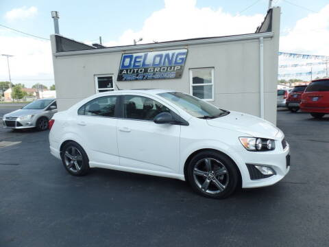 2014 Chevrolet Sonic for sale at DeLong Auto Group in Tipton IN