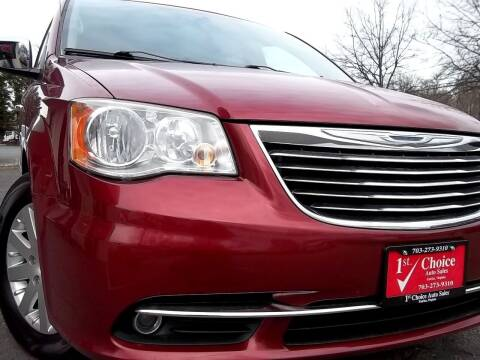 2012 Chrysler Town and Country for sale at 1st Choice Auto Sales in Fairfax VA