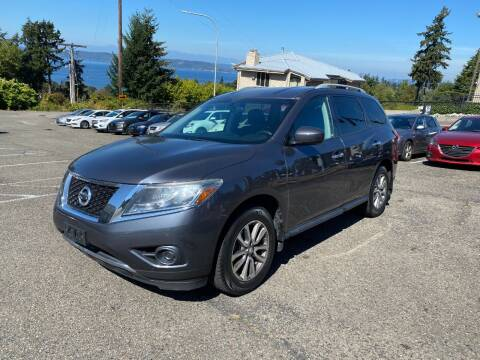 2013 Nissan Pathfinder for sale at KARMA AUTO SALES in Federal Way WA