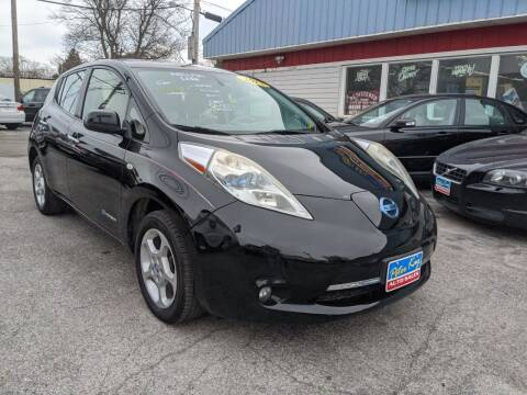 2012 Nissan LEAF for sale at Peter Kay Auto Sales in Alden NY