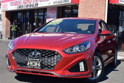 2019 Hyundai Sonata for sale at Foreign Auto Imports in Irvington NJ