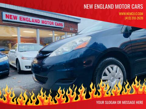 2006 Toyota Sienna for sale at New England Motor Cars in Springfield MA