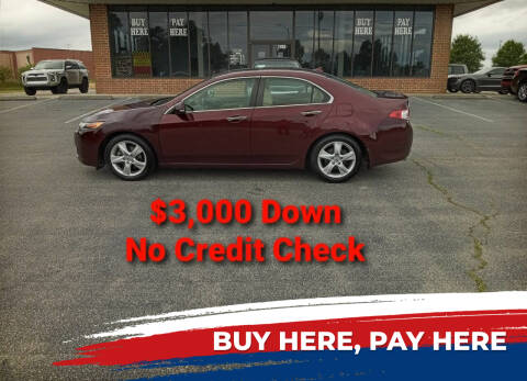 2010 Acura TSX for sale at BP Auto Finders in Durham NC