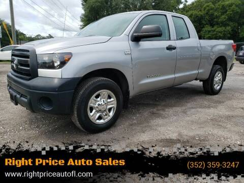 2012 Toyota Tundra for sale at Right Price Auto Sales-Gainesville in Gainesville FL
